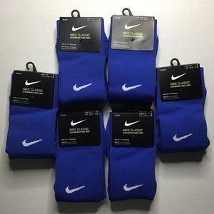 Nike Soccer Classic Cushioned Knee High Socks Blue